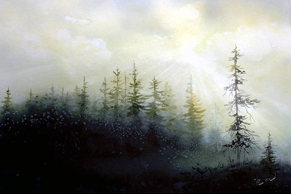 Painting - Last Light by Connie Williams