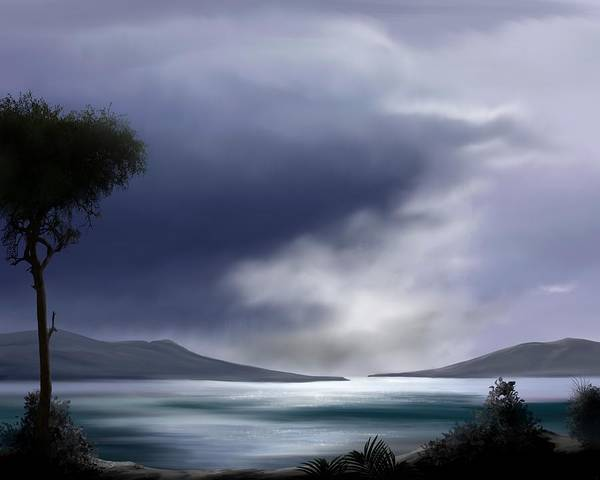 Painting - Last Light Of The Day by Mark Taylor