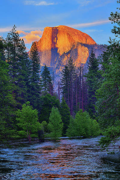 Photograph - Last Light On Half Dome by Greg Norrell