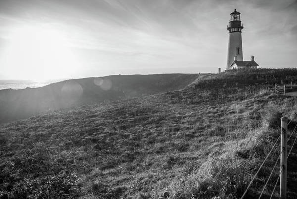Photograph - Last Light Yaquina by Kristopher Schoenleber