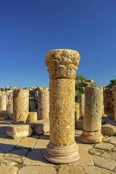 Jerash Photograph - Last Man Standing by Nicola Nobile