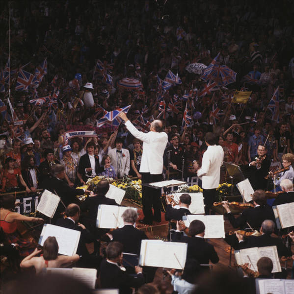 Concert Hall Photograph - Last Night Of The Proms by George Freston