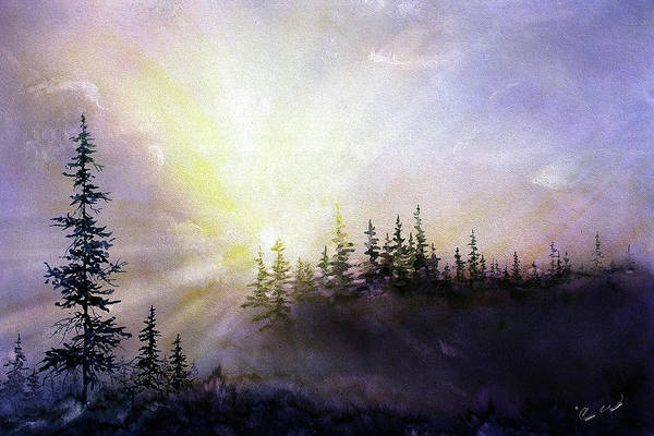 Painting - Last Rays by Connie Williams