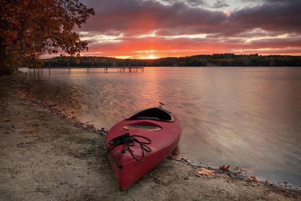 Photograph - Last Ride Of Autumn by Darylann Leonard Photography