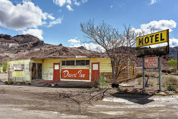 Photograph - Last Stop Motel by Jon Exley