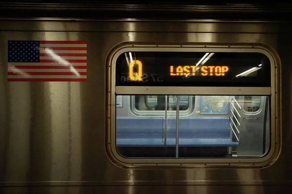 Featured Wall Art - Photograph - Last Stop Q by Az Jackson