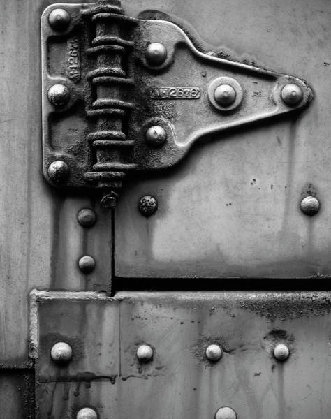 Wall Art - Photograph - Latch Door Of A Railcar by Panoramic Images