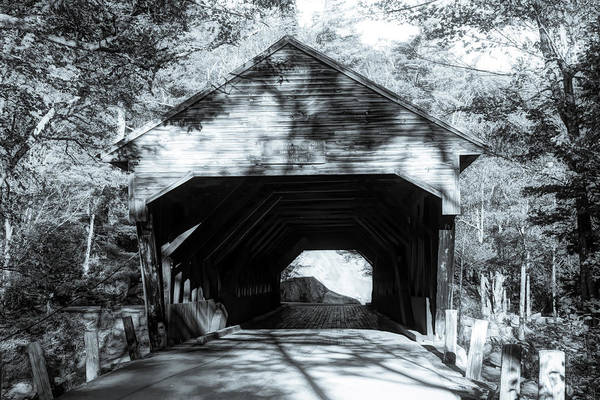 Photograph - Late Afternoon At The Albany Covered Bridge by Jeff Folger
