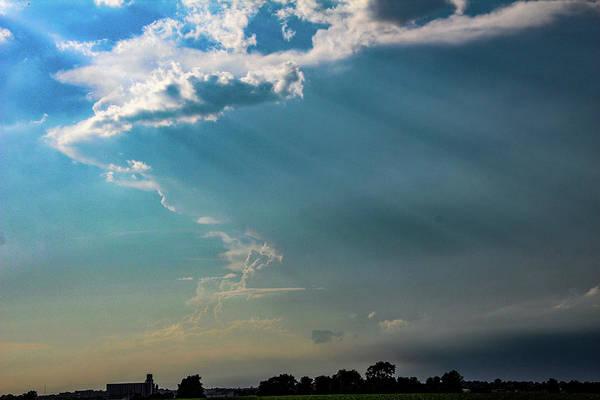 Photograph - Late Afternoon Nebraska Thunderstorms 002 by Dale Kaminski