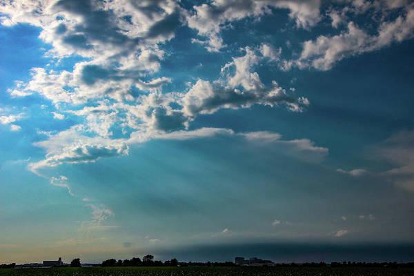 Photograph - Late Afternoon Nebraska Thunderstorms 003 by Dale Kaminski