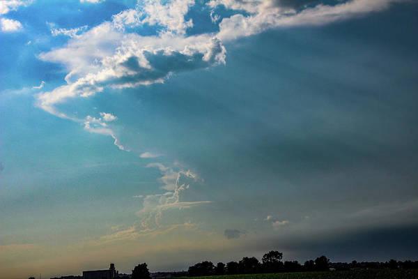 Photograph - Late Afternoon Nebraska Thunderstorms 004 by Dale Kaminski