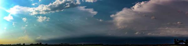Photograph - Late Afternoon Nebraska Thunderstorms 005 by Dale Kaminski