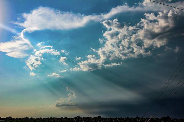 Photograph - Late Afternoon Nebraska Thunderstorms 006 by Dale Kaminski