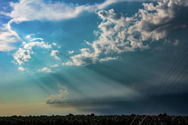 Photograph - Late Afternoon Nebraska Thunderstorms 007 by Dale Kaminski