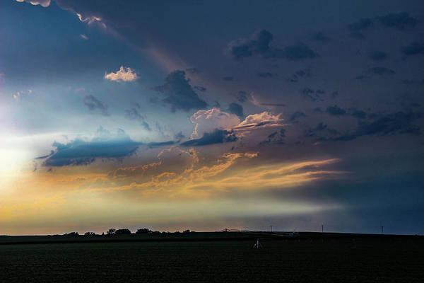 Photograph - Late Afternoon Nebraska Thunderstorms 008 by Dale Kaminski