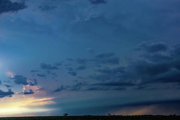 Photograph - Late Afternoon Nebraska Thunderstorms 012 by Dale Kaminski