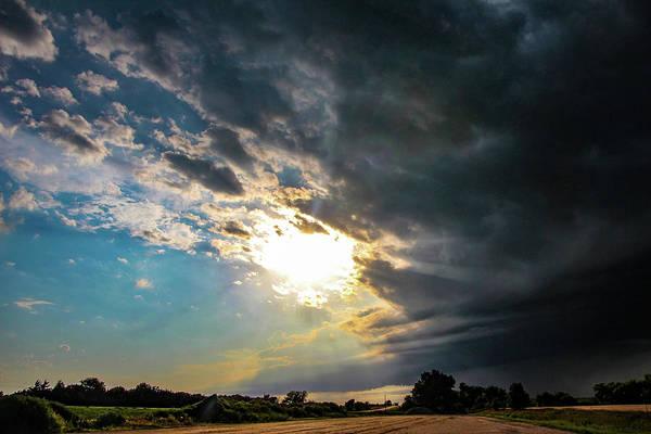 Photograph - Late Afternoon Nebraska Thunderstorms 013 by Dale Kaminski