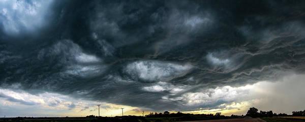 Photograph - Late Afternoon Nebraska Thunderstorms 027 by Dale Kaminski