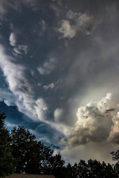 Photograph - Late Afternoon Nebraska Thunderstorms 034 by Dale Kaminski