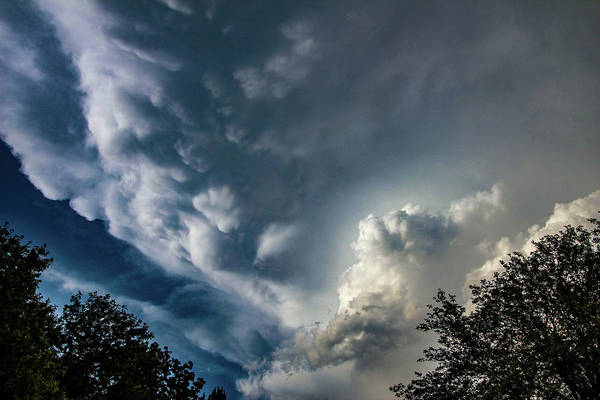 Photograph - Late Afternoon Nebraska Thunderstorms 036 by Dale Kaminski