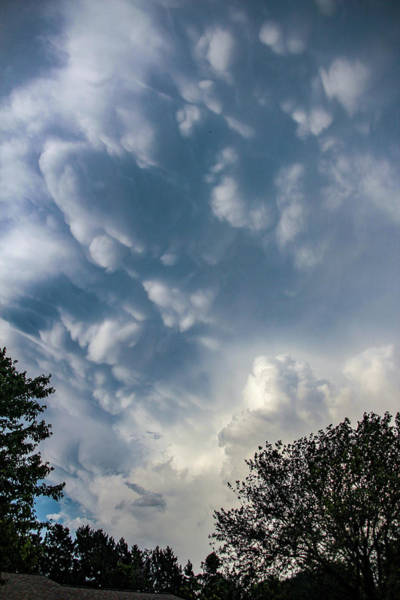 Photograph - Late Afternoon Nebraska Thunderstorms 038 by Dale Kaminski