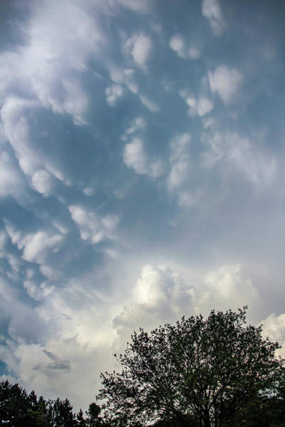 Photograph - Late Afternoon Nebraska Thunderstorms 042 by Dale Kaminski