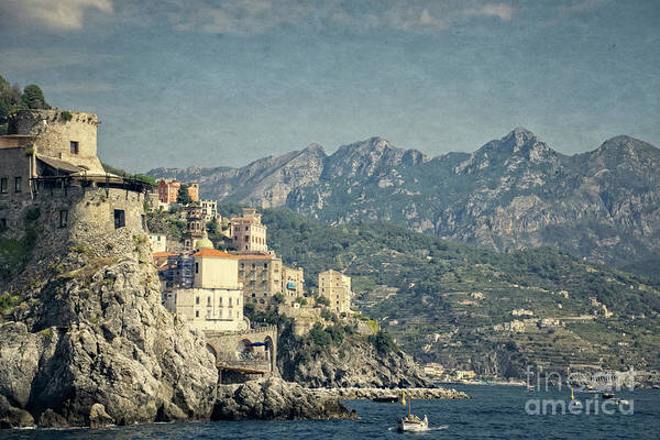 Photograph - Late Afternoon On The Amalfi Coast by Mary Machare