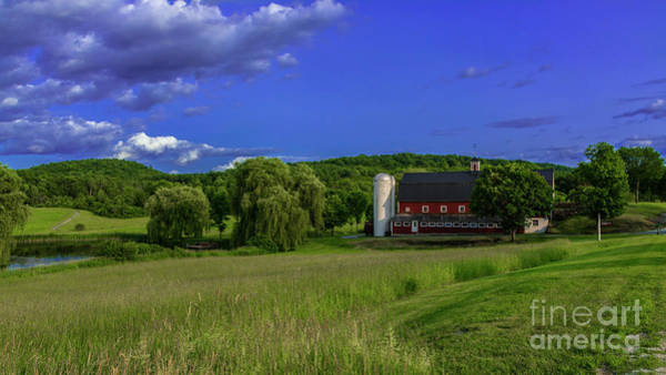 Photograph - Late Afternoon On The Farm. by Scenic Vermont Photography