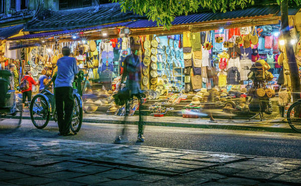 Photograph - Late Night Hoi An by Gary Gillette