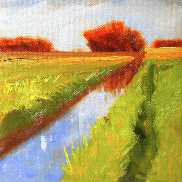 Wall Art - Painting - Late Summer by Nancy Merkle