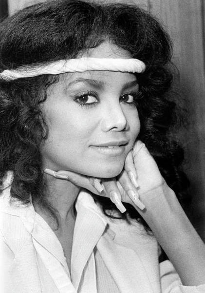 Headband Photograph - Latoya Jackson by Afro Newspaper/gado