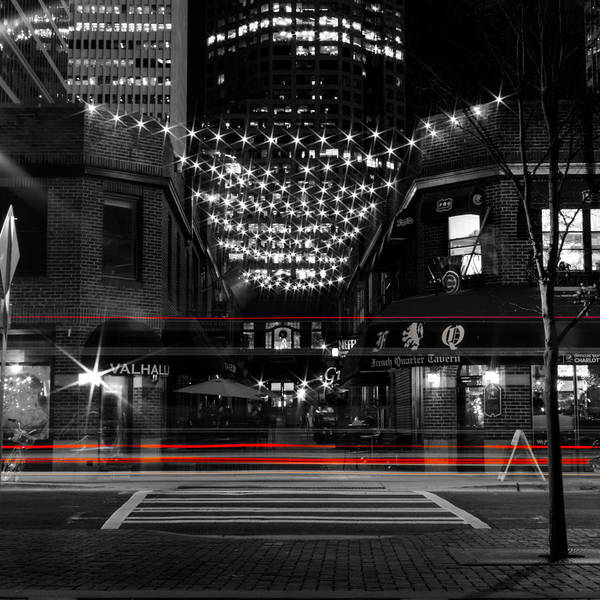 Photograph - Latta Arcade With Red Stripes by Christine Buckley