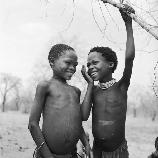 Side-by-side Photograph - Laughing Girls by Ejor