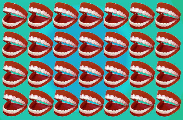Laughing Photograph - Laughing Teeth by Steve Mcalister