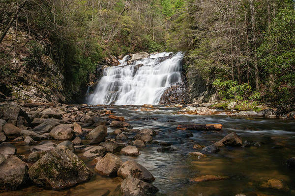 Photograph - Laurel Falls In Spring I by Jeff Severson