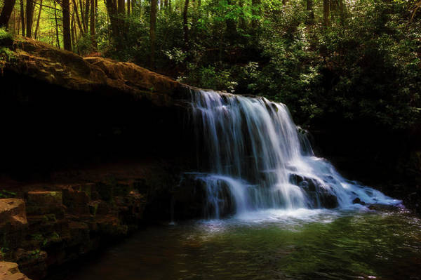 Photograph - Laurel Run Waterfalls In Tennessee by Dee Browning