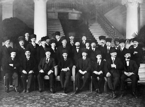Delegation Photograph - Lausanne Conference, 1923 by Granger