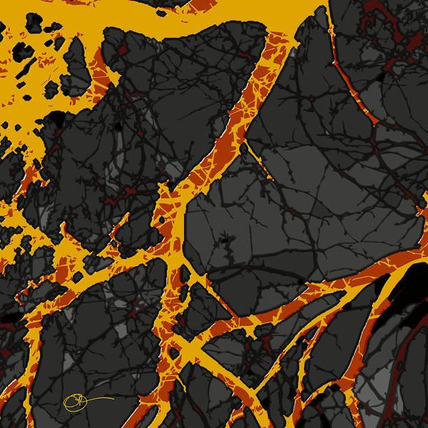 Digital Art - Lava Dream by Lucas Boyd