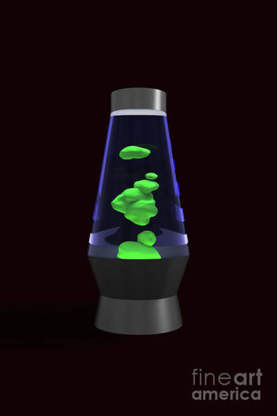 Digital Art - Lava Lamp by Clayton Bastiani