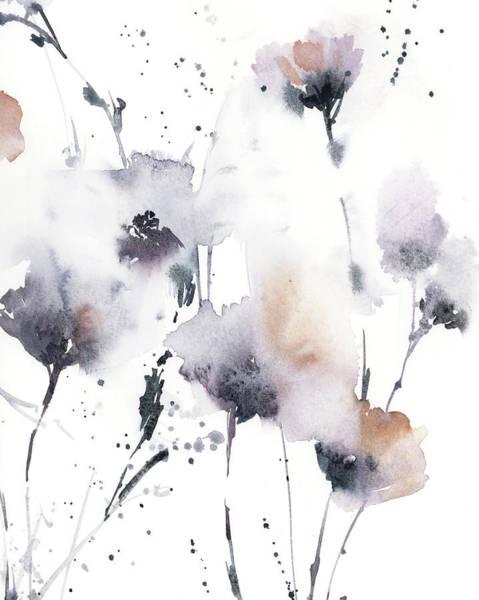 Wall Art - Painting - Lavender Floral II by Sophia Rodionov