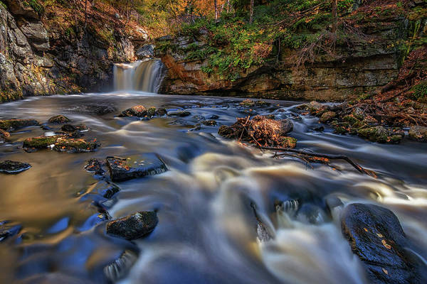 Photograph - Lawrence Brook And Doane's Falls by Kristen Wilkinson