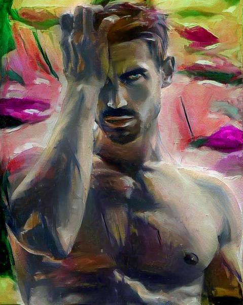 Digital Art - Lawrence by Richard Laeton