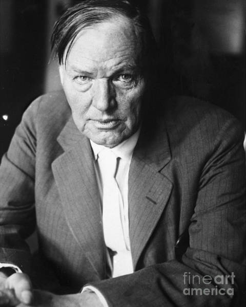 Teaching Photograph - Lawyer Clarence Darrow by New York Daily News