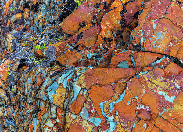 Wall Art - Photograph - Layered Rock Formations At Sun Point by Chuck Haney