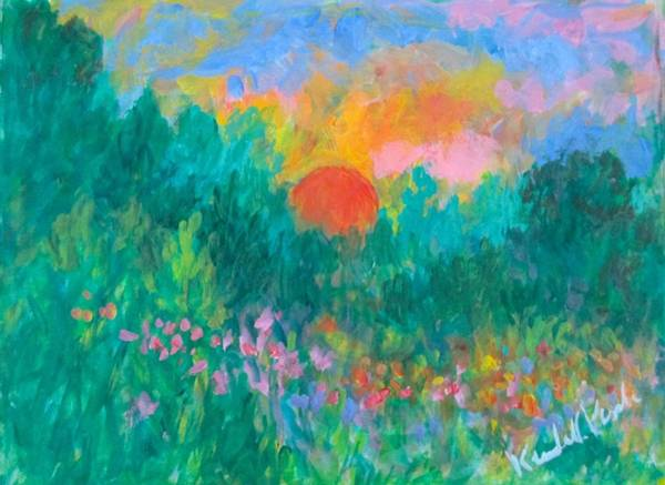 Painting - Layers Of Light by Kendall Kessler