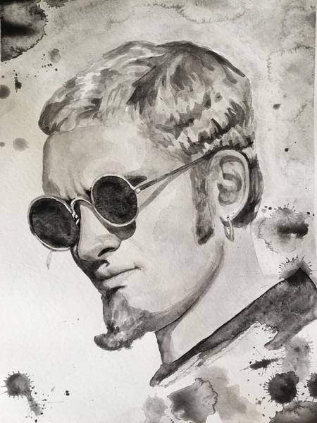 Layne Staley Painting - Layne Staley by Dollie Honey