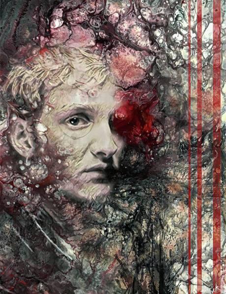 Wall Art - Painting - Layne Staley - Got Me Wrong by Bobby Zeik