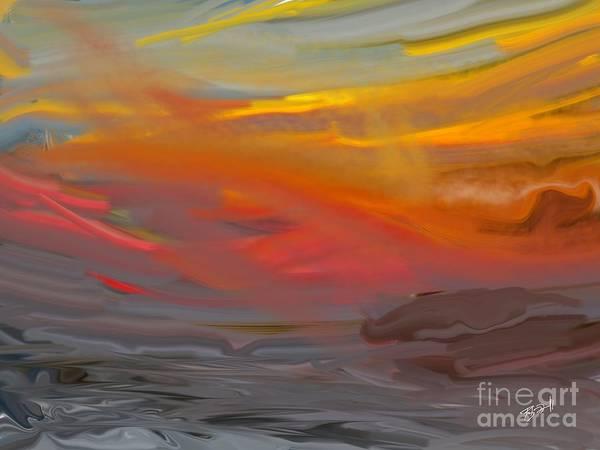 Digital Art - Laze by Rob Mandell