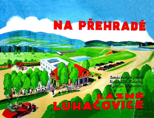 Czech Digital Art - Lazne Luhacovice by Long Shot
