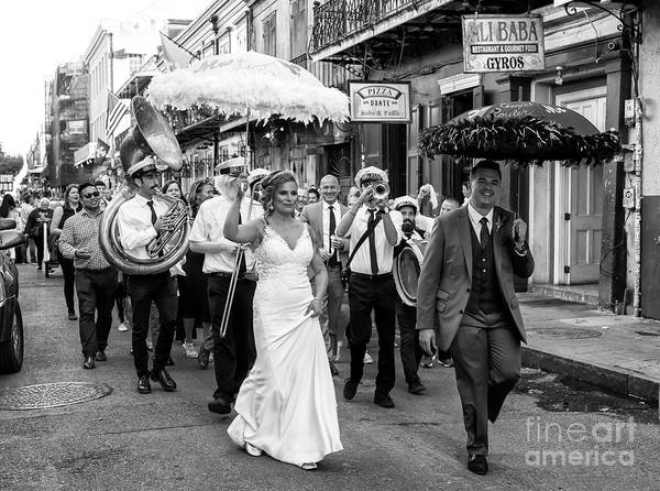Photograph - Le Bons Temps Rouler New Orleans by John Rizzuto